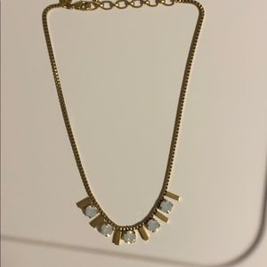 Loren Hope gold time necklace 17 inch w extender